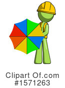 Green Design Mascot Clipart #1571263 by Leo Blanchette