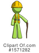 Green Design Mascot Clipart #1571282 by Leo Blanchette