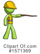 Green Design Mascot Clipart #1571369 by Leo Blanchette
