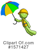Green Design Mascot Clipart #1571427 by Leo Blanchette