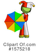 Green Design Mascot Clipart #1575218 by Leo Blanchette