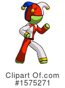 Green Design Mascot Clipart #1575271 by Leo Blanchette