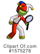 Green Design Mascot Clipart #1575278 by Leo Blanchette