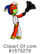 Green Design Mascot Clipart #1575279 by Leo Blanchette