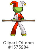 Green Design Mascot Clipart #1575284 by Leo Blanchette