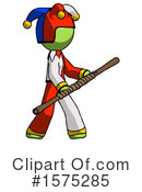 Green Design Mascot Clipart #1575285 by Leo Blanchette