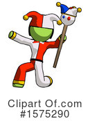 Green Design Mascot Clipart #1575290 by Leo Blanchette