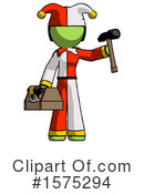 Green Design Mascot Clipart #1575294 by Leo Blanchette