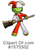 Green Design Mascot Clipart #1575302 by Leo Blanchette