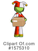 Green Design Mascot Clipart #1575310 by Leo Blanchette
