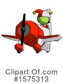 Green Design Mascot Clipart #1575313 by Leo Blanchette
