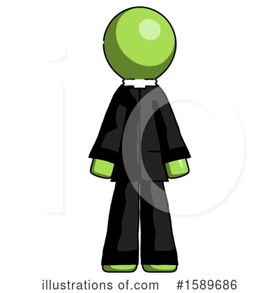 Green Design Mascot Clipart #1589686 by Leo Blanchette