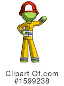 Green Design Mascot Clipart #1599238 by Leo Blanchette
