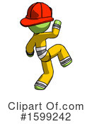 Green Design Mascot Clipart #1599242 by Leo Blanchette