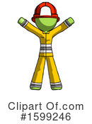 Green Design Mascot Clipart #1599246 by Leo Blanchette