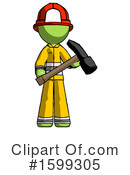 Green Design Mascot Clipart #1599305 by Leo Blanchette