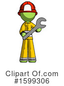 Green Design Mascot Clipart #1599306 by Leo Blanchette