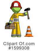 Green Design Mascot Clipart #1599308 by Leo Blanchette