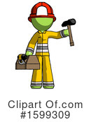 Green Design Mascot Clipart #1599309 by Leo Blanchette
