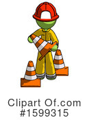 Green Design Mascot Clipart #1599315 by Leo Blanchette