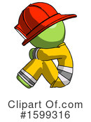 Green Design Mascot Clipart #1599316 by Leo Blanchette