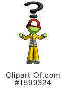 Green Design Mascot Clipart #1599324 by Leo Blanchette