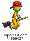 Green Design Mascot Clipart #1599437 by Leo Blanchette