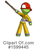 Green Design Mascot Clipart #1599445 by Leo Blanchette