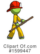 Green Design Mascot Clipart #1599447 by Leo Blanchette