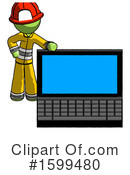 Green Design Mascot Clipart #1599480 by Leo Blanchette
