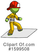 Green Design Mascot Clipart #1599508 by Leo Blanchette