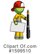 Green Design Mascot Clipart #1599510 by Leo Blanchette