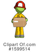 Green Design Mascot Clipart #1599514 by Leo Blanchette
