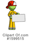 Green Design Mascot Clipart #1599515 by Leo Blanchette