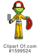 Green Design Mascot Clipart #1599524 by Leo Blanchette