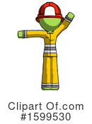 Green Design Mascot Clipart #1599530 by Leo Blanchette