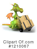 Green Dragon Clipart #1210067 by Julos