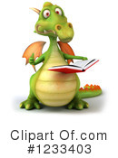 Green Dragon Clipart #1233403 by Julos