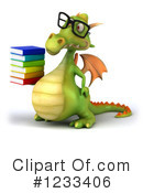 Green Dragon Clipart #1233406 by Julos