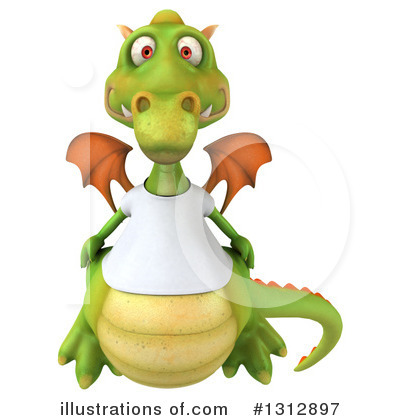 Dragon Clipart #1312897 by Julos
