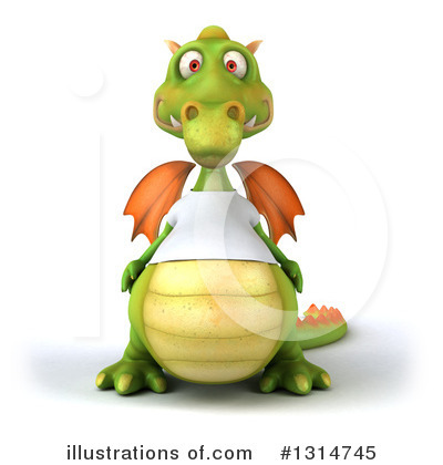 Dragon Clipart #1314745 by Julos
