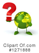 Royalty-Free (RF) Green Earth Clipart Illustration #1271888