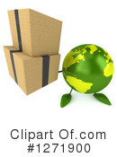 Royalty-Free (RF) Green Earth Clipart Illustration #1271900
