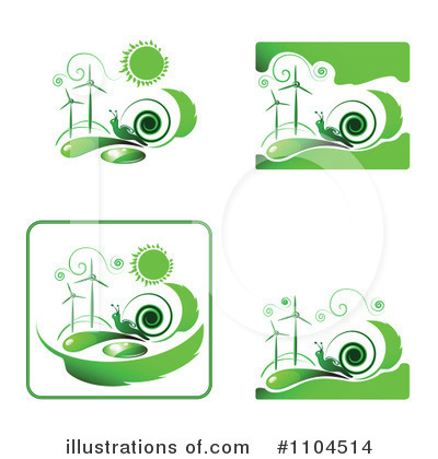 Wind Turbine Clipart #1104514 by merlinul