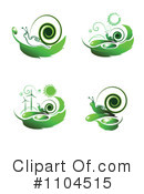 Royalty-Free (RF) Green Energy Clipart Illustration #1104515