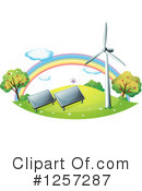 Royalty-Free (RF) Green Energy Clipart Illustration #1257287