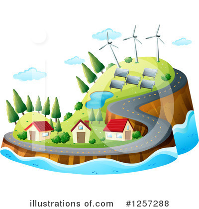 Island Clipart #1257288 by Graphics RF