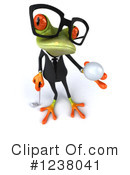 Green Frog Clipart #1238041 by Julos