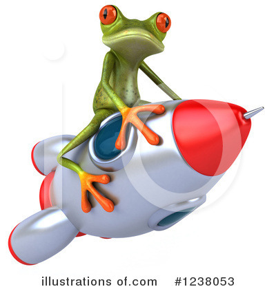 Green Frog Clipart #1238053 by Julos