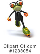 Green Frog Clipart #1238054 by Julos